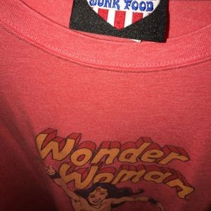 Junk Food Clothing Tops - Wonder Woman T-Shirt